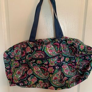 Vera Bradley collapsible duffle
